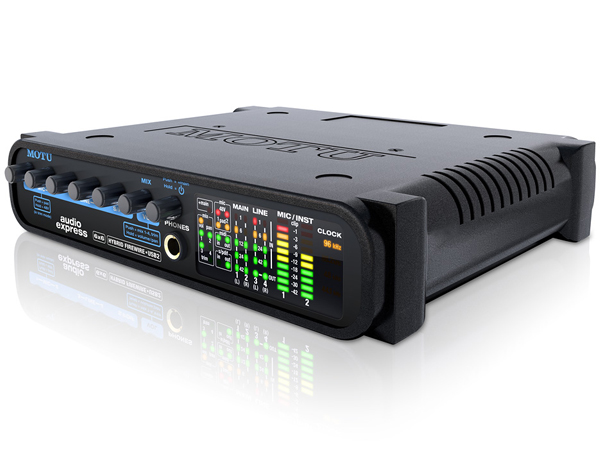 MOTU ( マーク オブ ザ ユニコーン ) Audio Express マーク オブ ザ ユニコーン オーディオ エクスプレス [ DTM ] ▽ インターフェース USB Firewire DSP搭載 【smtb-k】【w3】