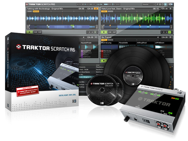 Native Instruments TRAKTOR SCRATCH A6 ◆【送料無料】【TARAKTOR PRO】【PCDJ】【DAW】【DTM】【smtb-k】