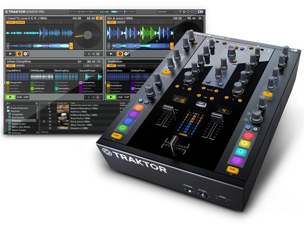 Native Instruments TRAKTOR KONTROL Z2  [ PC-DJ ]▽ PC - DJ システム TRAKTOR DJミキサー X1 F1 S2 DVS