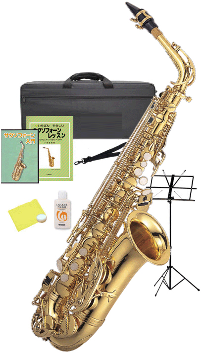 Kaerntner ( ケルントナー ) KAL62 アルトサックス 新品 管楽器 サックス 管体 ゴールド アルトサクソフォン 本体 E♭ alto saxophone  【 KAL62 セット F】 送料無料