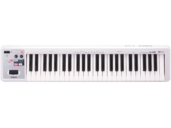 【2018最新作】 Roland ( ローランド ) A-49 WHITE【A-49-WH】 ◆【送料無料】▽ コントローラー 鍵盤タイプ, オオタケシ 016c2601