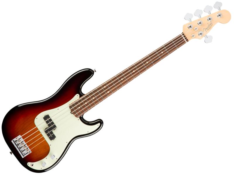 Fender ( フェンダー ) American Professional Precision Bass V(3-Color Sunburst) 【USA アメリカン プロ 5弦 プレベ 】【194650700】