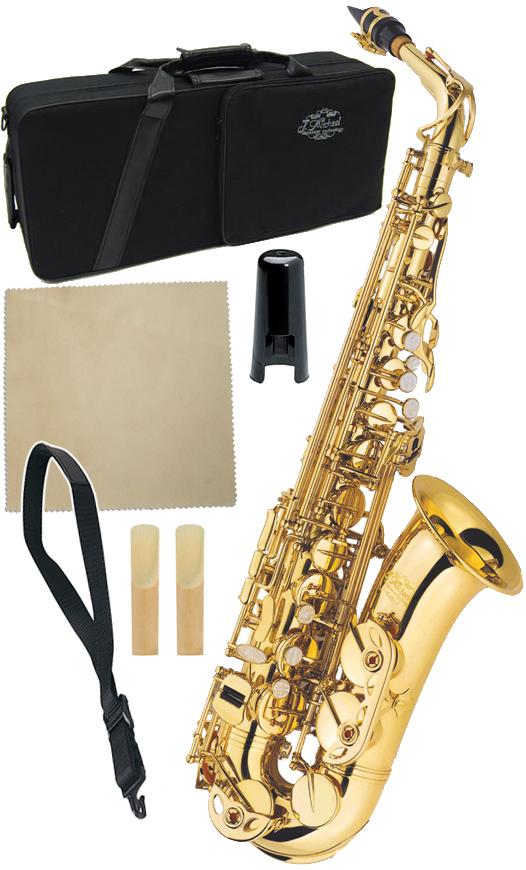 J Michael ( Jマイケル ) AL-500 アルトサックス 新品 アウトレット 初心者 管楽器 ゴールド 管体 サックス E♭ 本体 AL500 Alto Saxophones 送料無料