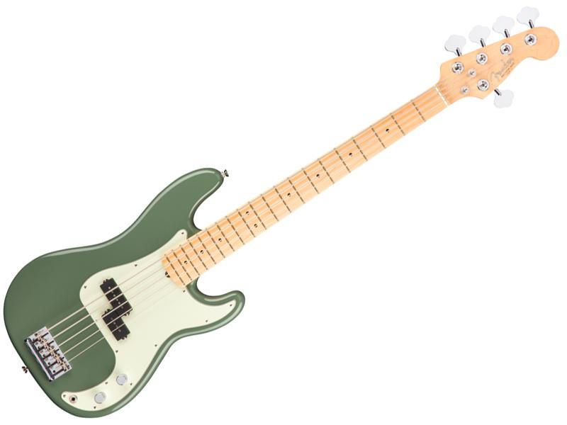 Fender ( フェンダー ) American Professional Precision Bass V(Antique Olive) 【USA アメリカン プロ 5弦 プレベ 】【194652776】