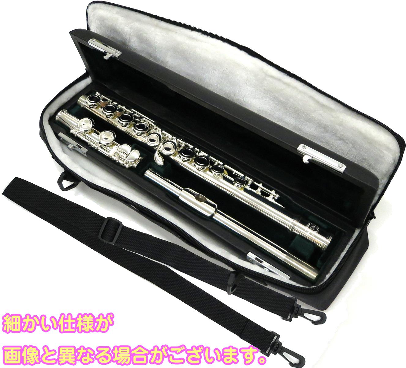 Michael FL380SE オフセット flute アウトレット 新品 FL-380SE 初心者 Eメカニズム付き カバードキイ 銀メッキ 送料無料 本体 C管 フルート ) Jマイケル ( J 管楽器