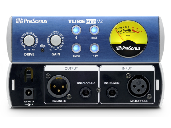 PreSonus ( プリソーナス ) TubePre V2 ◆ マイクプリアンプ