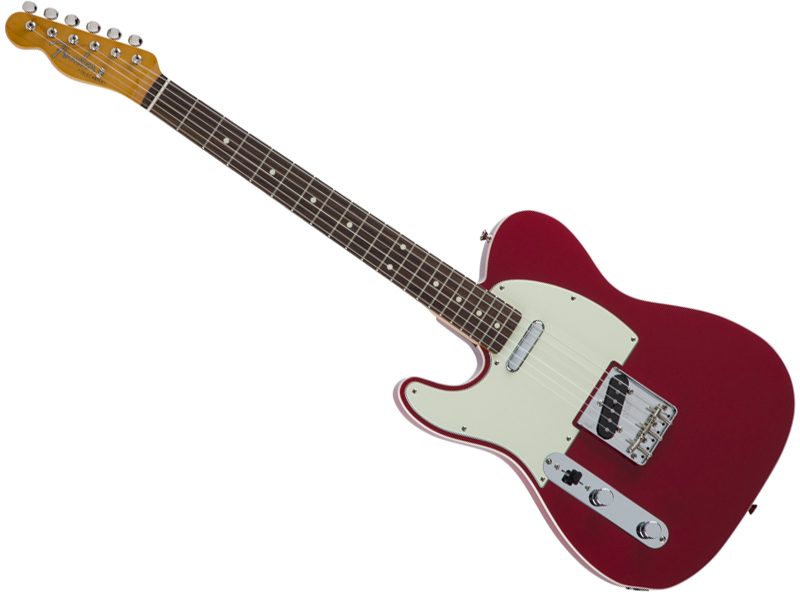 Fender ( フェンダー ) Made in Japan Traditional 60s Telecaster Custom ( Torino Red )【国産 Left-Hand テレキャスター 左用】【5351600358】 フェンダー・ジャパン