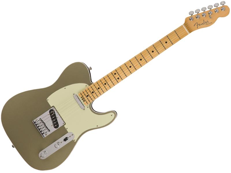 Fender ( フェンダー ) American Elite Telecaster (Champagne /M) 【USA テレキャス エリート】【0114212774】 エレキギター