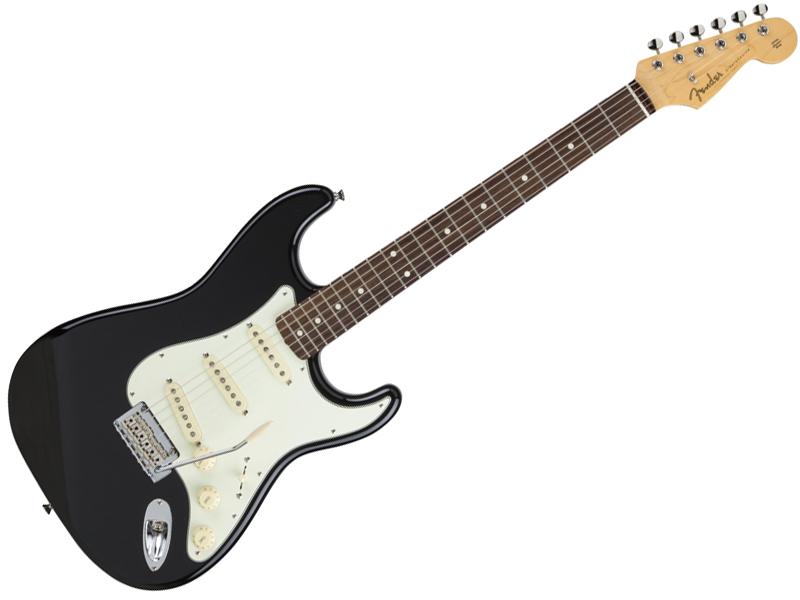 Fender ( フェンダー ) Made in Japan Hybrid 60s Stratocaster (Black)【国産 ストラトキャスター 】【5657600306】 フェンダー・ジャパン
