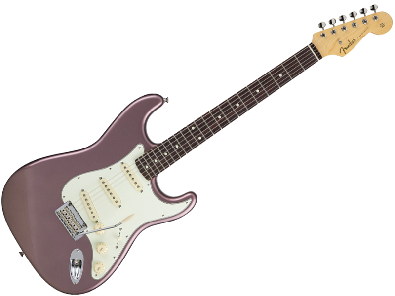 Fender ( フェンダー ) Made in Japan Hybrid 60s Stratocaster (Burgundy Mist Metallic )【国産 ストラトキャスター 】【5657600366】 フェンダー・ジャパン
