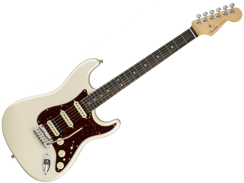 Fender ( フェンダー ) American Elite Stratocaster HSS Shawbucker (Olympic Pearl/E) 【USA エリート ストラトキャスター 】【114111723】 アメリカン・エリート