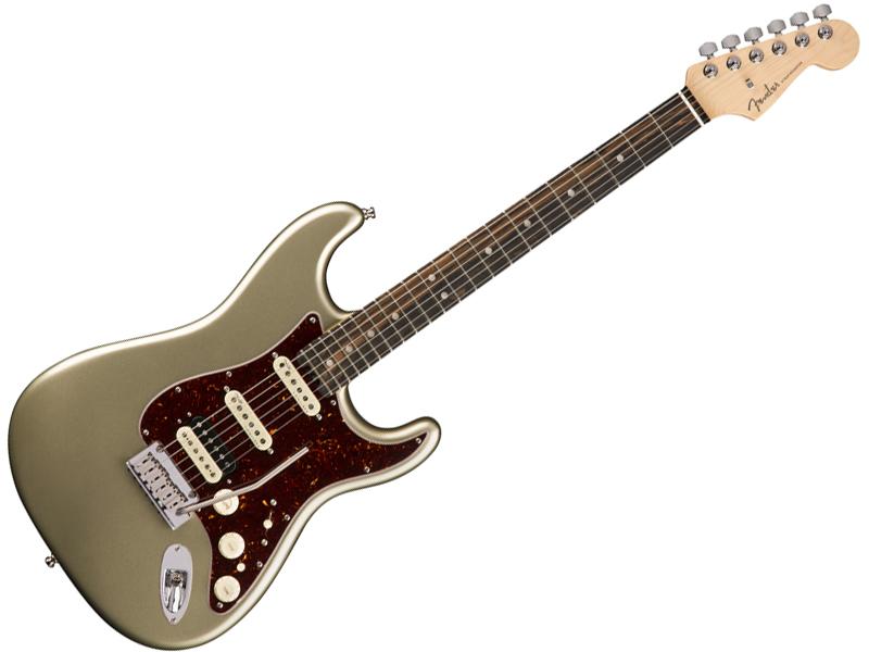 Fender ( フェンダー ) American Elite Stratocaster HSS Shawbucker (Champagne/E) 【USA エリート ストラトキャスター 】【0114111774】 アメリカン・エリート