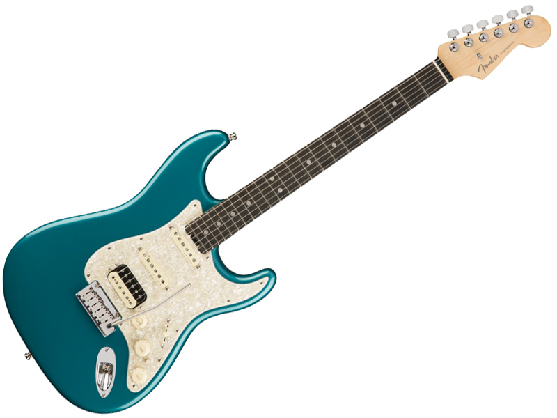 Fender ( フェンダー ) American Elite Stratocaster HSS Shawbucker (Ocean Turquoise/E) 【USA エリート ストラトキャスター 】【114111708】 アメリカン・エリート
