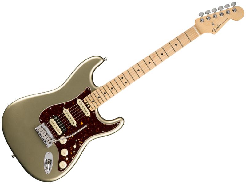 Fender ( フェンダー ) American Elite Stratocaster HSS Shawbucker (Champagne/M) 【USA エリート ストラトキャスター 】【114112774】 アメリカン・エリート