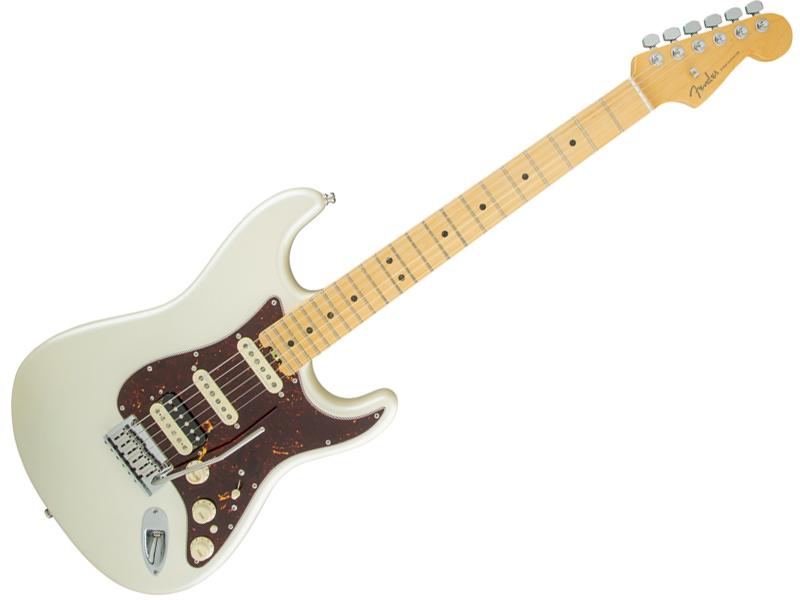Fender ( フェンダー ) American Elite Stratocaster HSS Shawbucker (Olympic Pearl/M) 【USA エリート ストラトキャスター 】【114112723】 アメリカン・エリート