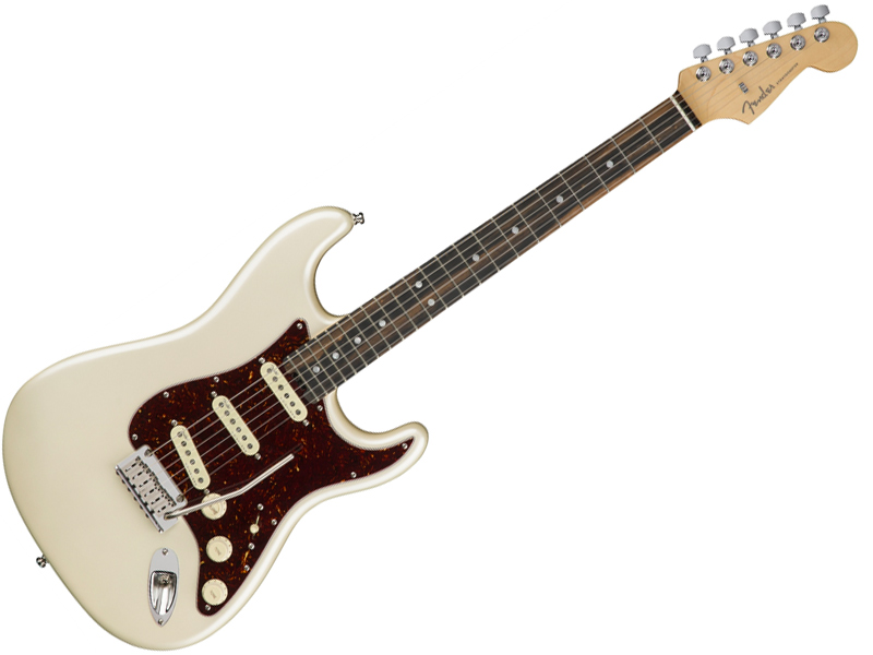 Fender ( フェンダー ) American Elite Stratocaster (Olympic Pearl/E) 【USA エリート ストラトキャスター 】【0114001723】 アメリカン・エリート