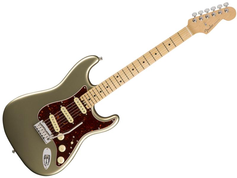 Fender ( フェンダー ) American Elite Stratocaster (Champagne/M) 【USA エリート ストラトキャスター 】【0114002774】 アメリカン・エリート