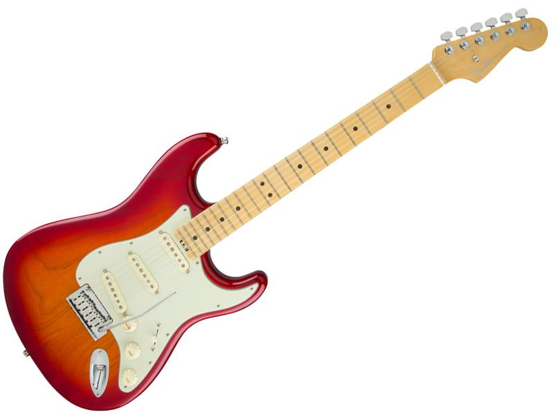 Fender ( フェンダー ) American Elite Stratocaster (Aged Cherry Burst/M) 【USA エリート ストラトキャスター 】【114002731】 アメリカン・エリート