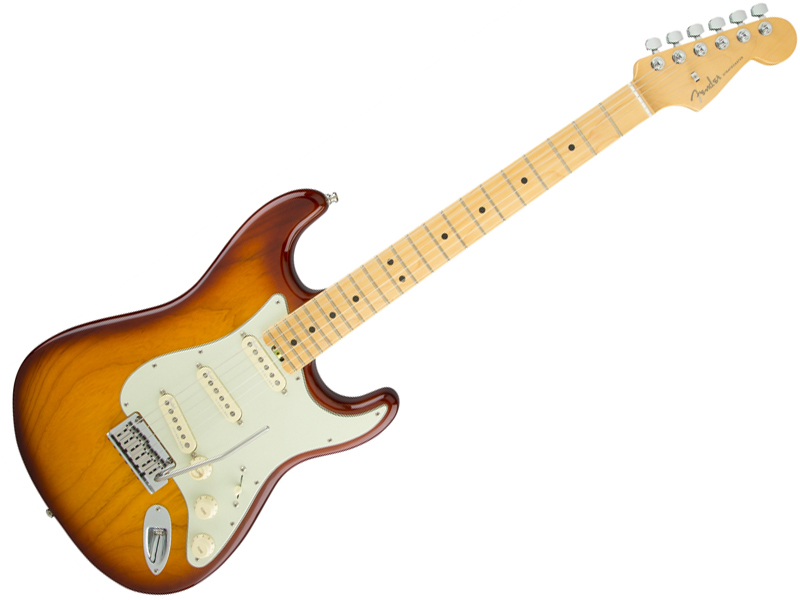 Fender ( フェンダー ) American Elite Stratocaster (Tobacco Sunburst/M) 【USA エリート ストラトキャスター 】【0114002752】 アメリカン・エリート