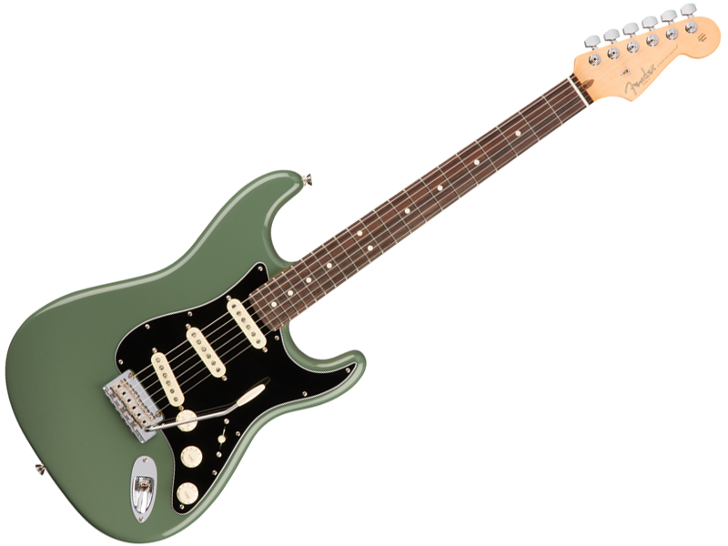 Fender ( フェンダー ) American Professional Stratocaster (Antique Olive /R)【USA ストラトキャスター】【113010776】 アメプロ