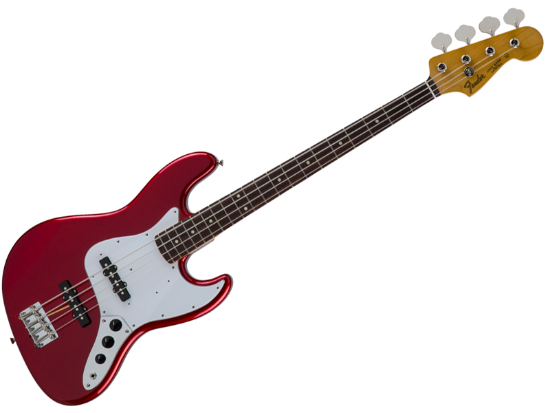Fender ( フェンダー ) Made in Japan Traditional 60s Jazz Bass(Candy Apple Red )【国産 ジャズベース 】【5350060309】 フェンダー・ジャパン エレキベース