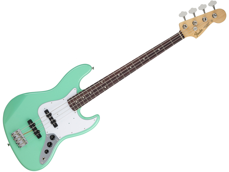 Fender ( フェンダー ) Made in Japan Hybrid 60s Jazz Bass(Surf Green)【国産 ハイブリッド ジャズベース 】【5758600357】【お買い得価格! 】 フェンダー・ジャパン エレキベース