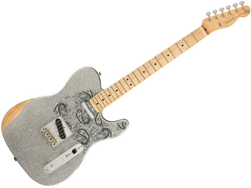 Fender ( フェンダー ) Brad Paisley Road Worn Telecaster【mex ブラッド・ペイズリー テレキャスター 】【145902317】 エレキギター