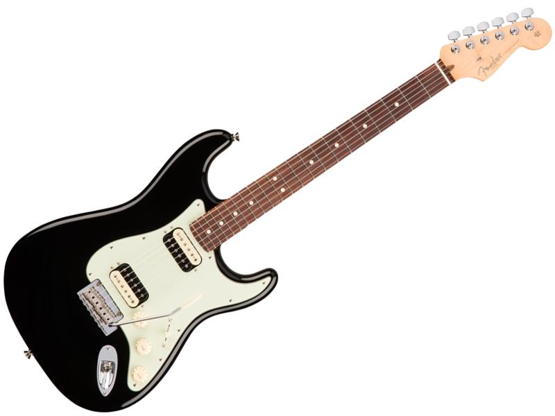 Fender ( フェンダー ) American Professional Stratocaster HH ( Black /R )【USA ストラトキャスター 】【113050706】