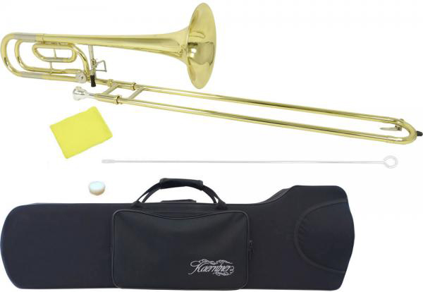 Kaerntner ( ケルントナー ) KTB-55 トロンボーン 新品 細管 テナーバストロンボーン B♭/F調 スライド 管楽器 本体 ケース マウスピース 初心者 KTB55 trombone 送料無料