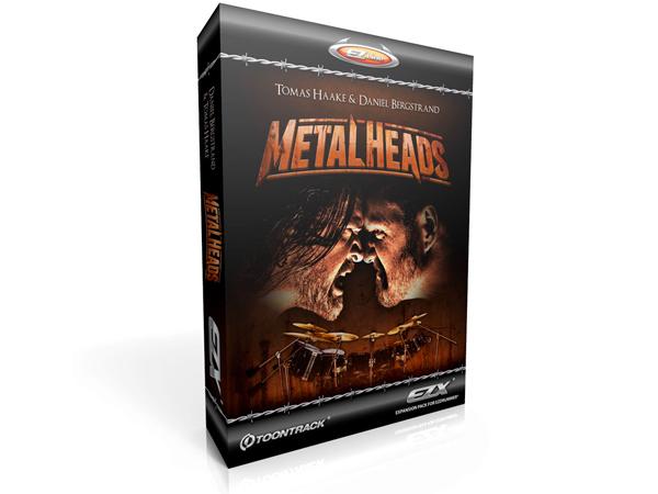 TOONTRACK ( トーントラック ) EZX METAL HEADS