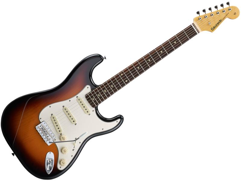 EDWARDS ( エドワーズ ) E-ST-125ALR (3 Tone Sunburst)【エレキギター】