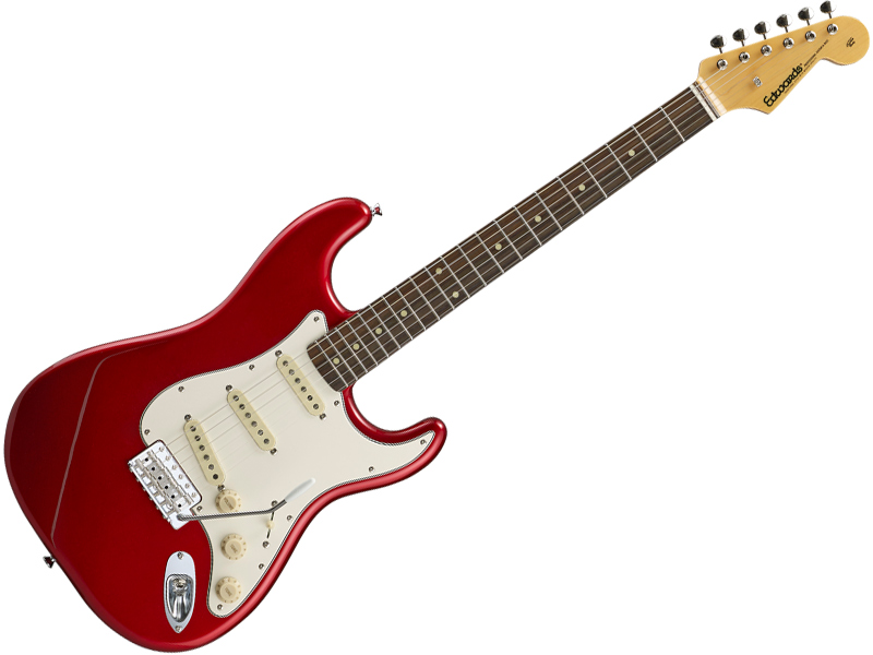 EDWARDS ( エドワーズ ) E-ST-125ALR ( Candy Apple Red )【エレキギター】