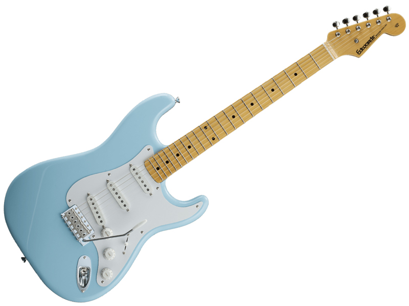 EDWARDS ( エドワーズ ) E-ST-125ALM (Sonic Blue)【エレキギター】