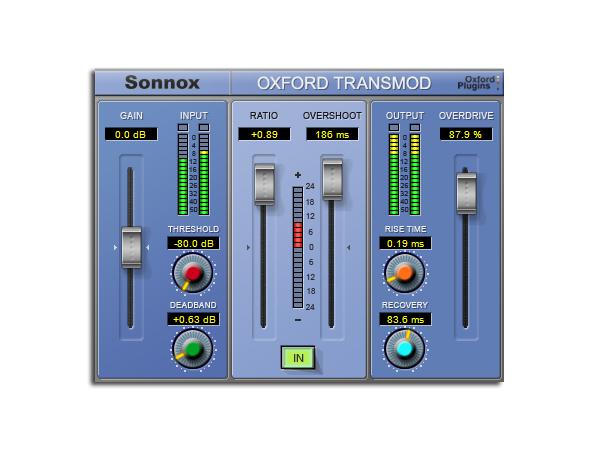 Sonnox Oxford ( ソノックスオックスフォード ) TransMod Native [送料無料] ソノックス オックスフォード オックスフォード トランスモッド ネイティブ [ DTM ]▽ プラグイン マスタリング EQ ダイナミクス【smtb-k】【w3】
