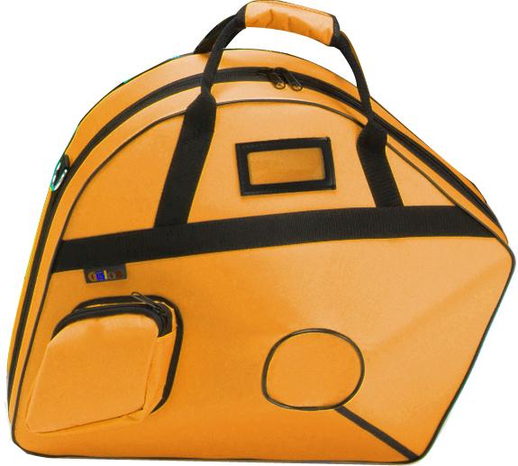 GALAX ( ギャラックス ) オレンジ ホルン ウルトラケース フレンチホルン用 リュックタイプ ベルカット セミハードケース ホルンケース デタッチャブル orange 一部送料追加 送料無料(北海道/沖縄/離島不可)