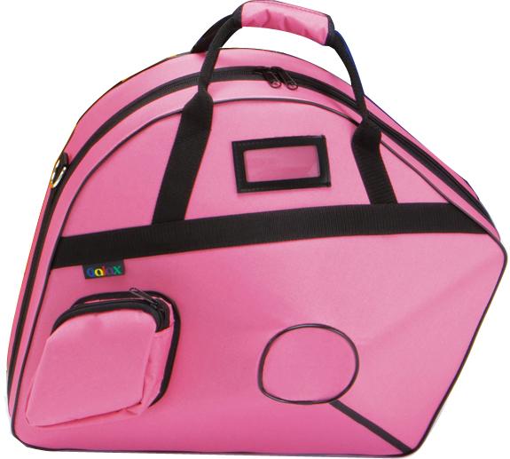 GALAX ( ギャラックス ) ピンク ホルン ウルトラケース フレンチホルン用 リュックタイプ ベルカット セミハードケース ホルンケース デタッチャブル ケース pink 送料無料
