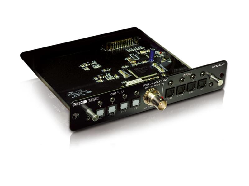 KLARK TEKNIK ( クラークテクニック ) DN32-ADAT ◆ 最大32レコード/プレイバック・チャンネルの能力を持つ、ADAT拡張モジュール [ 送料無料 ]