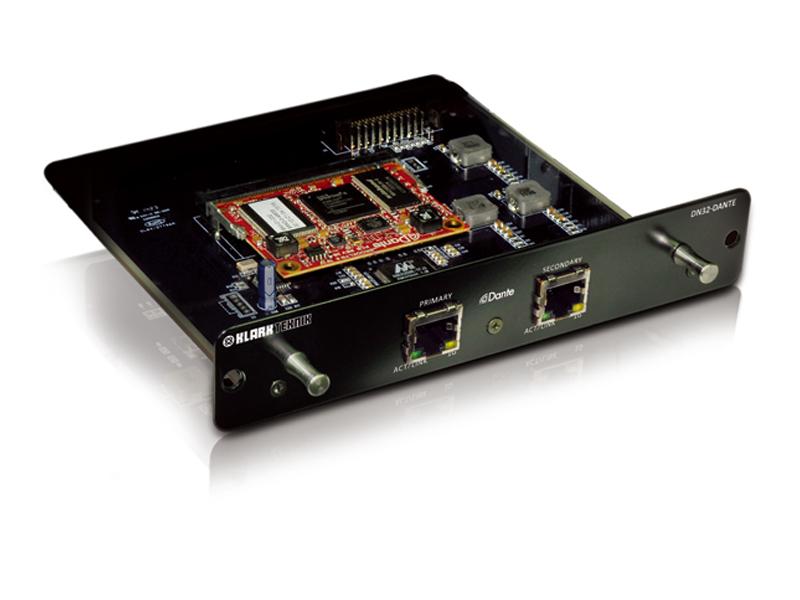KLARK TEKNIK ( クラークテクニック ) DN32-DANTE ◆ 最大32双方向チャンネルの能力を持つ、Audinate DANTE拡張モジュール [ 送料無料 ]