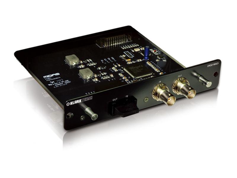 KLARK-TECHNIK ( クラークテクニック ) DN32-MADI ◆ 最大32双方向チャンネルの能力を持つ、MADI拡張モジュール [ 送料無料 ]