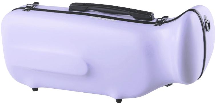 CCシャイニーケース CC2-TP-WS トランペットケース ウィステリア 紫色 ハードケース トランペット用 リュックタイプ シングル ケース Wisteria 薄紫 送料無料 北海道/沖縄/離島不可=送料実費請求