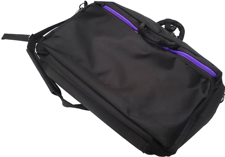 GALAX ( flute ギャラックス ) MB1-BK/PP フルート パープル クラリネット ケース 送料無料 ブラック パープル マルチブリーフバッグ リュックタイプ MB1-BK purple flute clarinet case bag 送料無料, キミツシ:a84886ce --- olena.ca