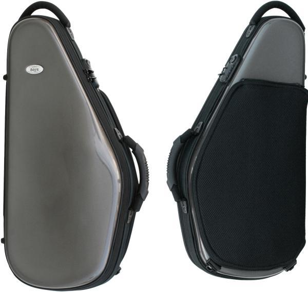 bags ( バッグス ) EFAS-M-GREY アルトサックスケース メタリック グレー ハードケース アルトサックス用 リュックタイプ EVOLUTION alto saxophone case 送料無料