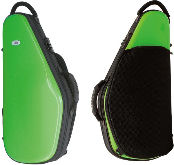 bags ( バッグス ) 【予約】 EFAS-GRE アルトサックスケース グリーン 緑色 ハードケース アルトサックス用 リュックタイプ EVOLUTION alto saxophone case