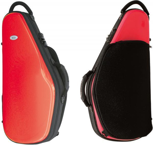 bags ( バッグス ) EFAS RED アルトサックスケース レッド 赤色 ハードケース リュック EVOLUTION alto saxophone case 北海道 沖縄 離島不可