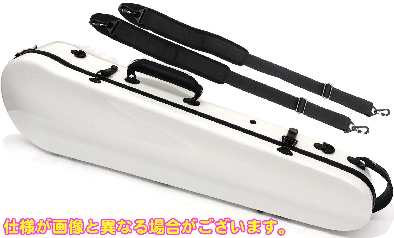 売り切れ必至! Carbon Mac ( カーボンマック ) CFV-2 スリム ホワイト 白色 バイオリンケース リュックタイプ 4/4サイズ 3/4 ハードケース バイオリン用 ケース violin case white WH 一部送料追加 送料無料(離島/沖縄/代引き/同梱不可), アンバージャック d7009b48