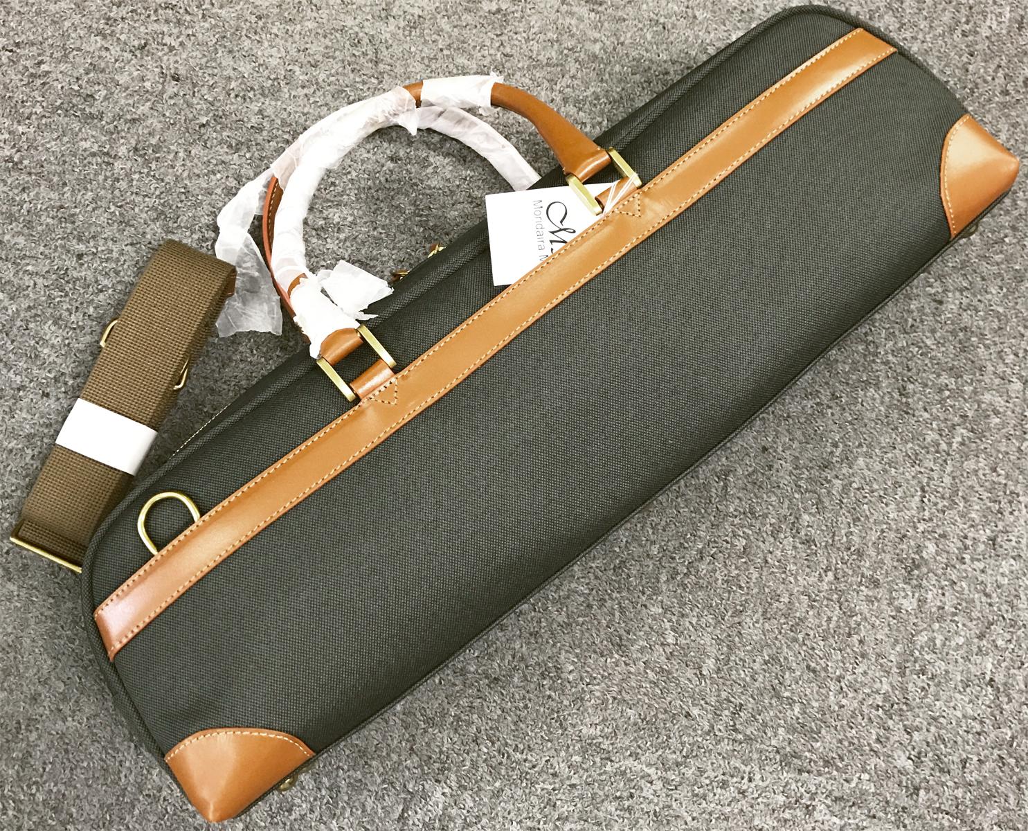 型掛け フルート用ケース フルートケースカバー ストラップ M's エムズ MFC 2 オリーブ フルートケース ハードケース用 ケースカバー flute 蔵 H管 OLIVE 新品 ショルダー case 管楽器 C管 ケース cover
