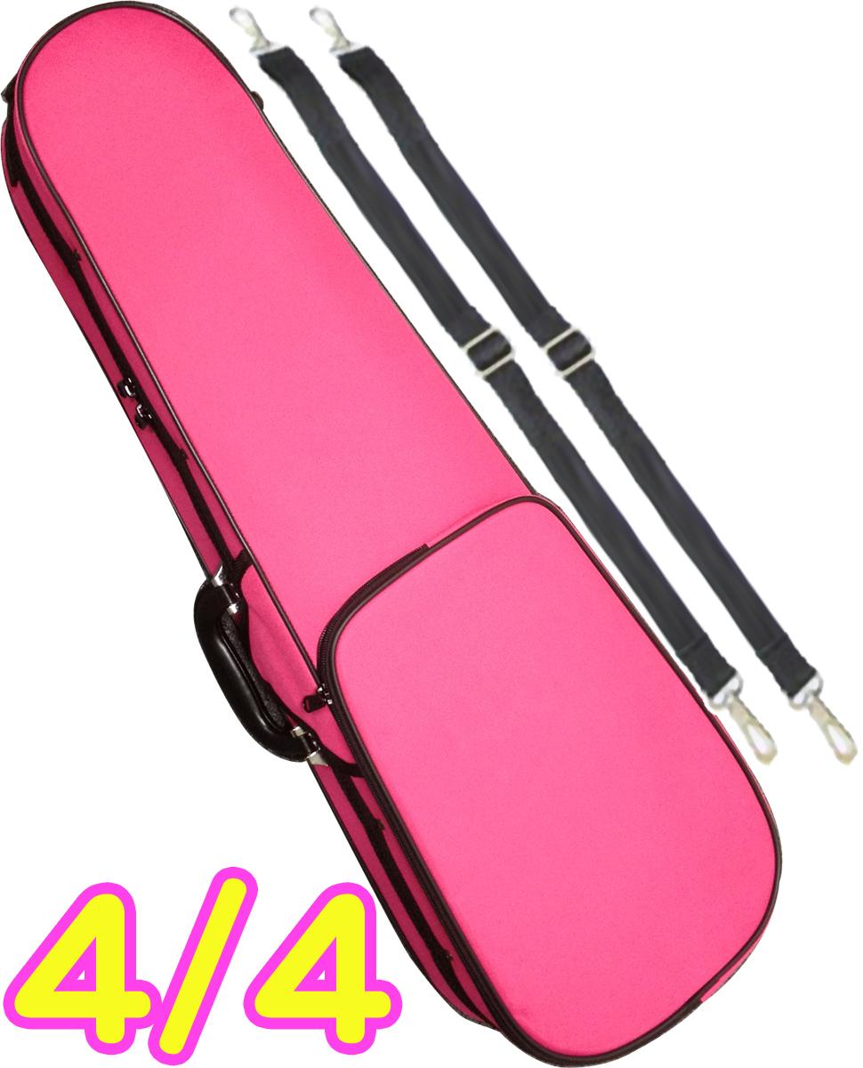 ぴんく 軽量 国産品 弦楽器 Semi hard bag ヴァイオリンケース CarloGiordano カルロジョルダーノ TRC-100C ピンク DPK 離島不可 北海道 バイオリンケース 4 沖縄 violin 4分の4 リュックタイプ セミハードケース case pink メーカー在庫限り品 ケース
