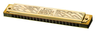 TOMBO メジャー 21穴 ( 楽器 トンボ )【 G調】 1921 ゴールド 超特級 複音ハーモニカ 21穴 トレモロハーモニカ No.1921 メジャー 長調 tremolo harmonica 木製ボディ リード 楽器 ハーモニカ, 最新作:6925f065 --- afs59.fr