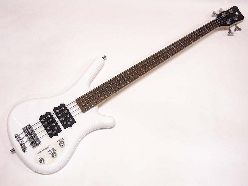 Warwick ( ワーウィック ) Rockbass CORVETTE $$ 4st / White High Polish【ロックベース コルベット アウトレット】【新春特価! 】
