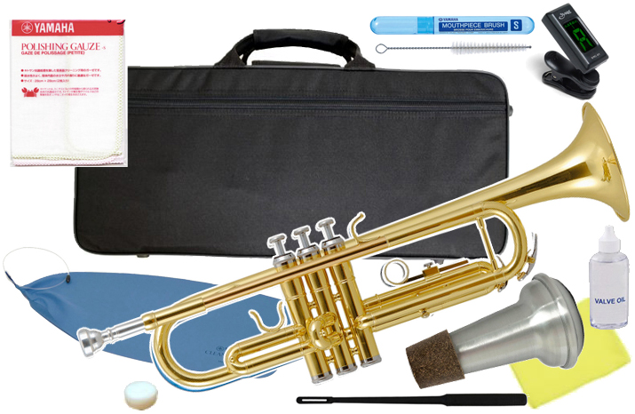 Kaerntner ( ケルントナー ) KTR-30 GD トランペット ゴールド 新品 初心者 管楽器 本体 金色 カラー 楽器 B♭ Trumpets 【 KTR30 GOLD セット B 】 送料無料